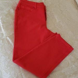 NWOT DKNY Jean's, 10, Coral